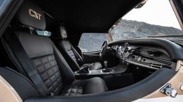 Morgan Plus Four CX-T - seats