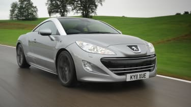Peugeot RCZ 200THP GT front tracking