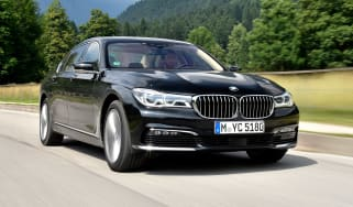 BMW 740e - front