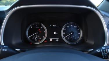 Hyundai Tucson 48v - instruments