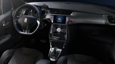DS 3 hatchback and Cabrio - interior