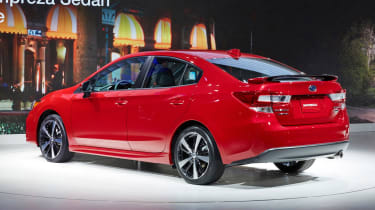 Subaru Impreza 2016 - saloon show rear quarter