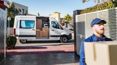 Mercedes Sprinter 2018 - delivery
