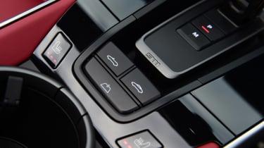 Porsche 911 Cabriolet - interior detail