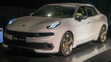 LYNK & CO 03 concept - show front