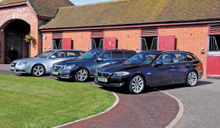 BMW 530d Touring vs. Rivals