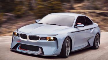 BMW 2002 Hommage - front cornering