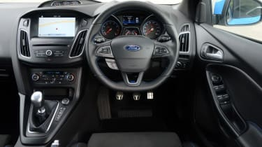 Ford Focus RS - dash