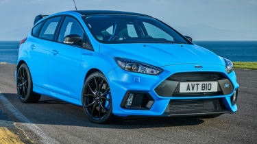Ford Focus RS - static front quarter