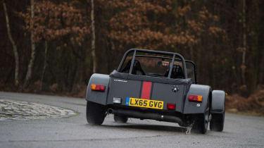 Caterham 620S - rear cornering