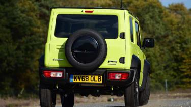 Suzuki Jimny - rear action