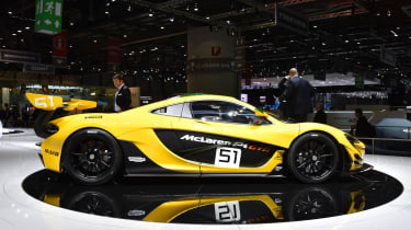 McLaren P1 GTR at Geneva 2015