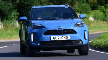 Toyota Yaris Cross - front action
