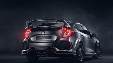 New Honda Civic Type-R rear