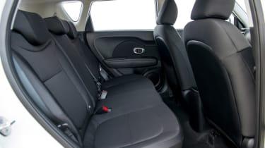 Kia Soul 1.6 GDi 2014 rear seats
