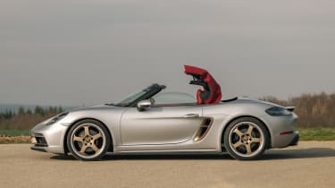 Porsche Boxster 25 Years - roof opening