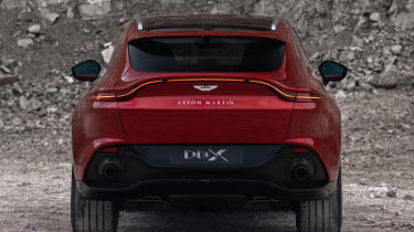 Aston Martin DBX - full rear