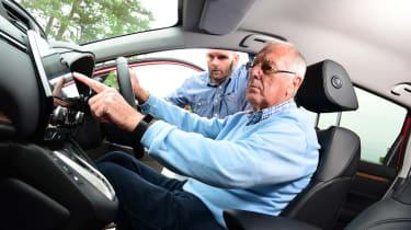 Honda CR-V Hybrid - third report in-car