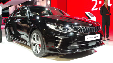 New Kia Optima GT front 2