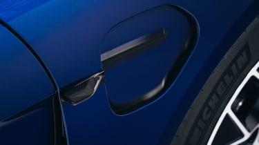 Porsche Taycan - charging port 2
