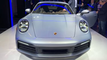 Porsche 911 - LA reveal full front
