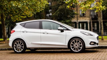 Ford Fiesta Vignale - side profile