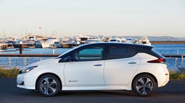 2017 Nissan Leaf - side