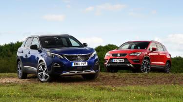 Peugeot 3008 vs SEAT Ateca - header
