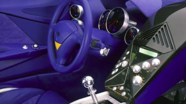 Ford GT90 - interior