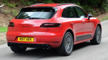 Porsche Macan GTS - rear action