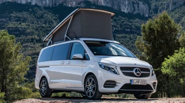 Mercedes V-Class Marco Polo - front canopy