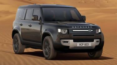 Pete Baiden Land Rover Defender front