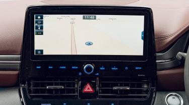 Hyundai Ioniq hybrid screen