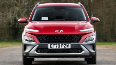 New Hyundai Kona Hybrid 2021 review - front