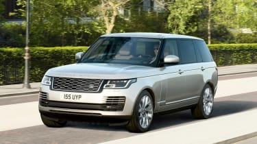 Range Rover PHEV - front