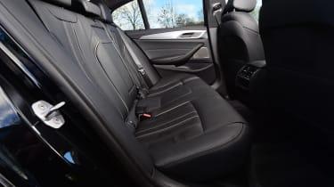 BMW 5 Series - rear seats
