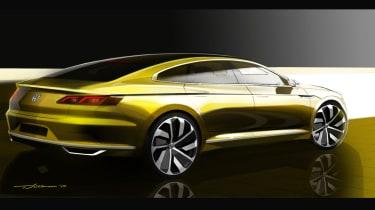 Volkswagen Passat CC concept Geneva 2015 - rear