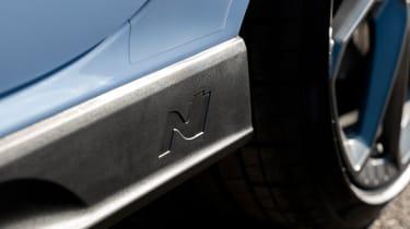Hyundai i30 N Performance DCT - side skirt