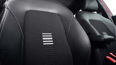 Ford Fiesta - seat detail