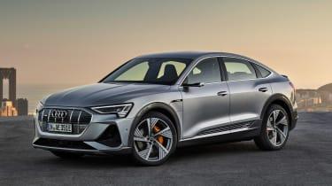 Audi e-tron Sportback - front