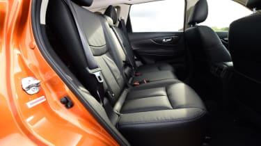 Nissan X-Trail - rear seats