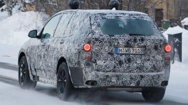 BMW X5 2017 rear side
