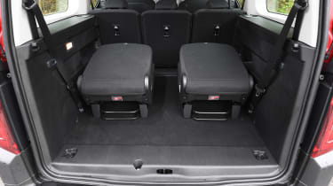 Citroen Berlingo XL Flair long termer - rear seats
