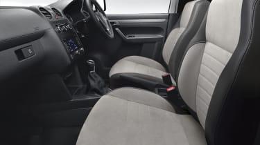 Volkswagen Caddy Black Edition interior