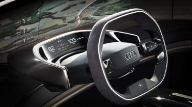 Audi Grandsphere concept - steering wheel