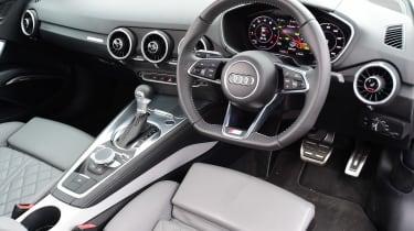 Audi TT interior front