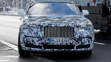 Rolls-Royce Ghost spies - front