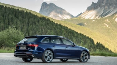 Audi A4 Avant 2019 rear static