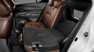 Nissan Kicks SUV - rear seats