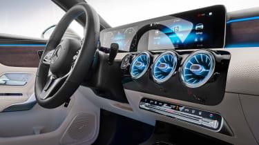 Mercedes A-Class Saloon - infotainment